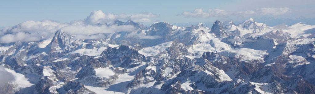Carnets de vol : survol des Alpes